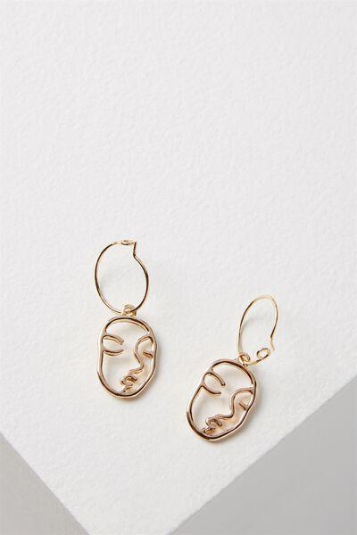 Twickenham Earring, GOLD