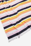 Love A Classic Towel, CORAL SUMMER STRIPE