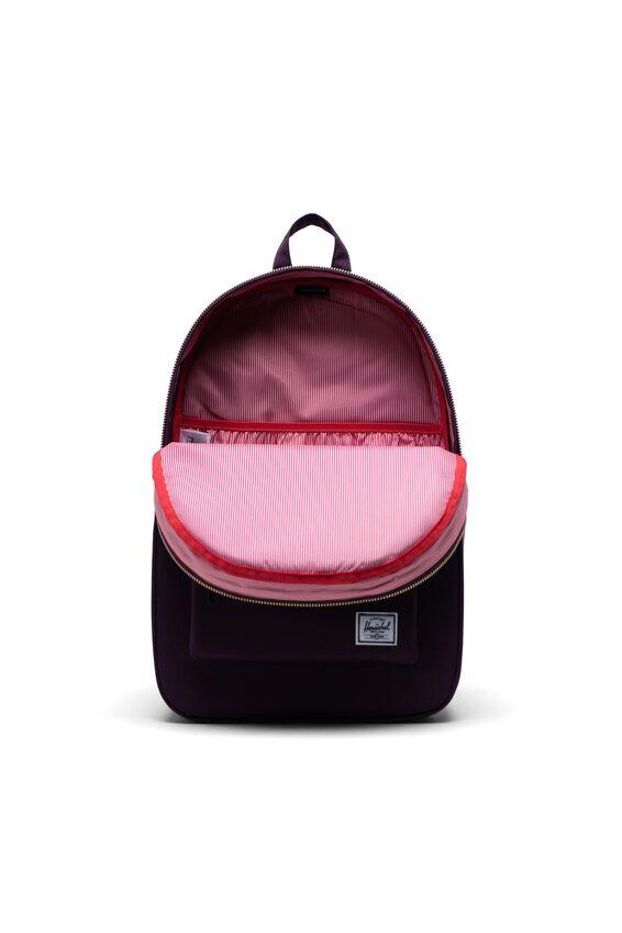Herschel Settlement Backpack, BLACKBERRY WINE