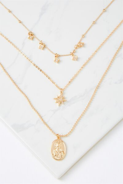 Holland Necklace, GOLD
