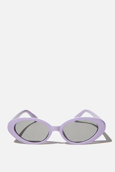 Hazel Sunglasses, POWDER LILAC
