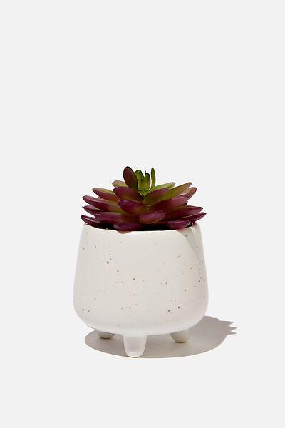 Mini Planter, WHITE