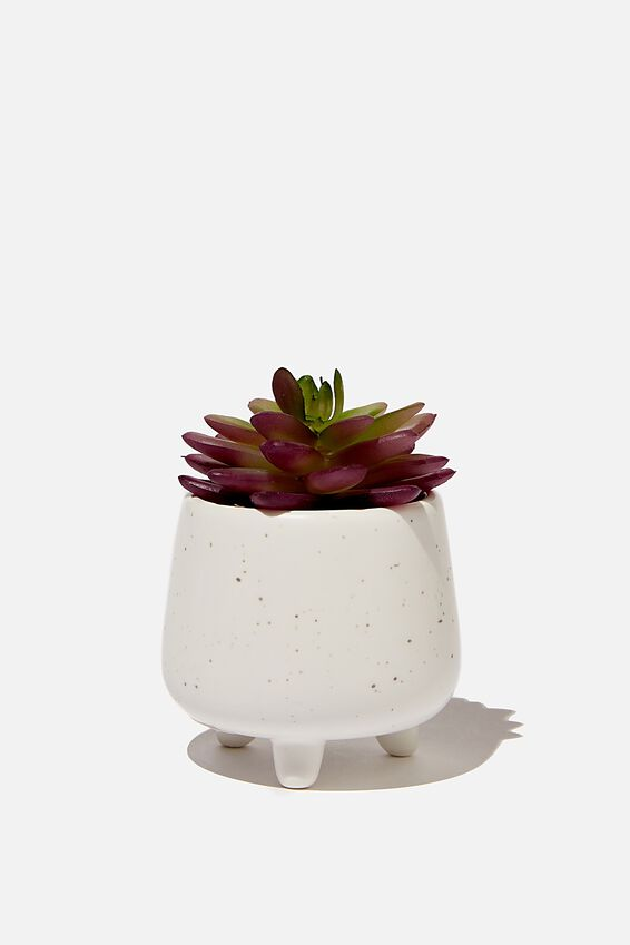 Mini Planter, WHITE