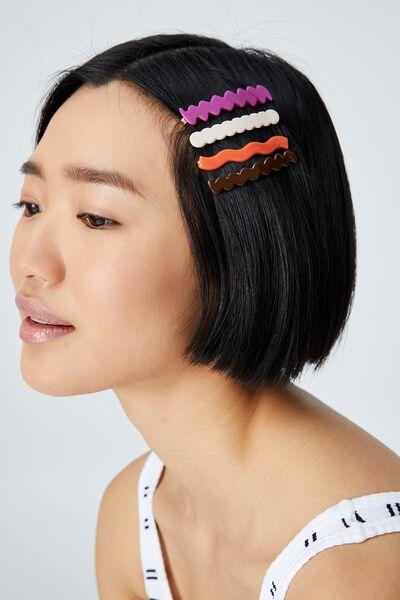 Melissa Hair Slides, MULTI