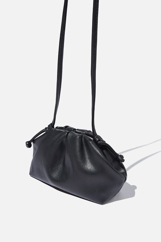 Cara Mini Cross Body Bag, BLACK