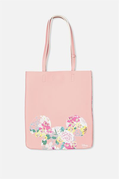 Work It Mini Tote, LCN MICKEY BLUSH