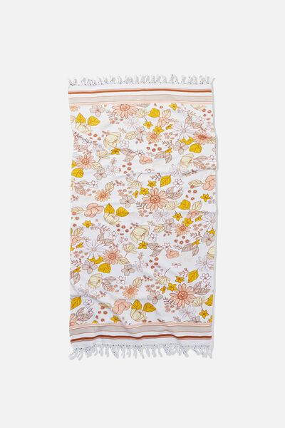 Coogee Lightweight Towel, 70 S FLORAL