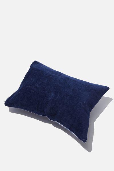 Bells Beach Pillow, NAVY PINSTRIPE