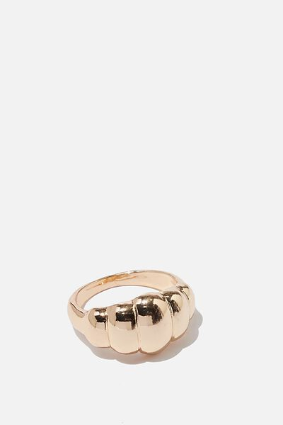Luxe Layers Bonjour Ring, GOLD