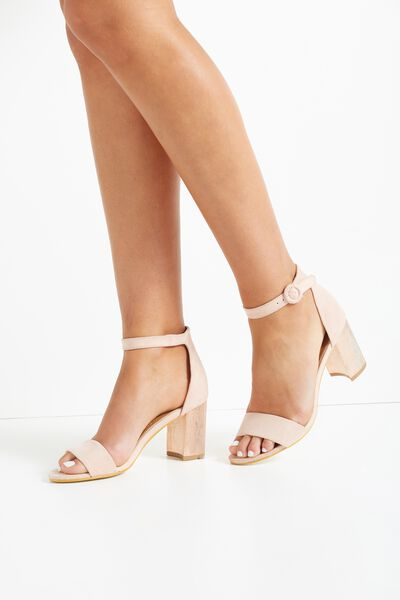 Mambo Flared Heel, ROSE CLOUD