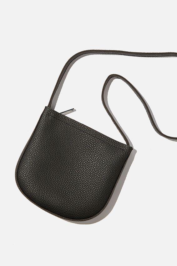 Half Moon Bag, BLACK