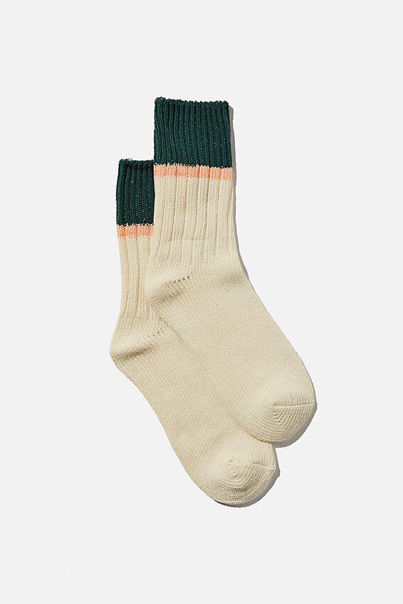 Weekend Sock, VINTAGE GREEN