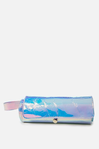 Roll Up Brush Cos Case, BLUE BELL