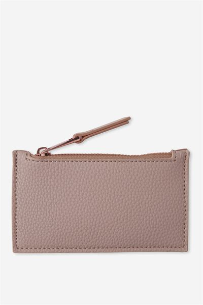 Indiana Card Holder, CLAY/ROSE GOLD