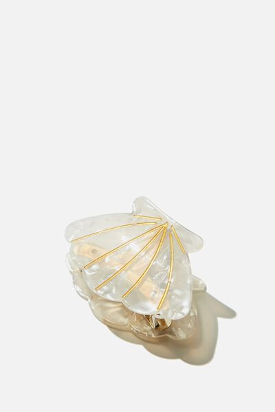 Mermaid Hair Claw, MOTHER OF PEARL