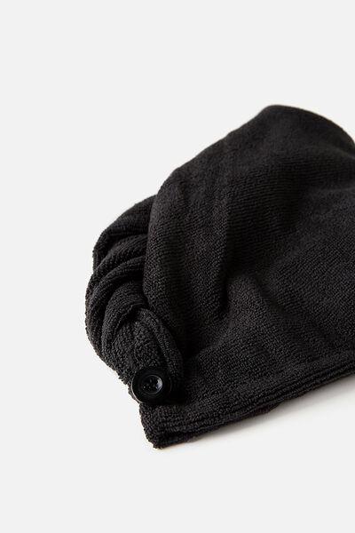 Hair Wrap, BLACK