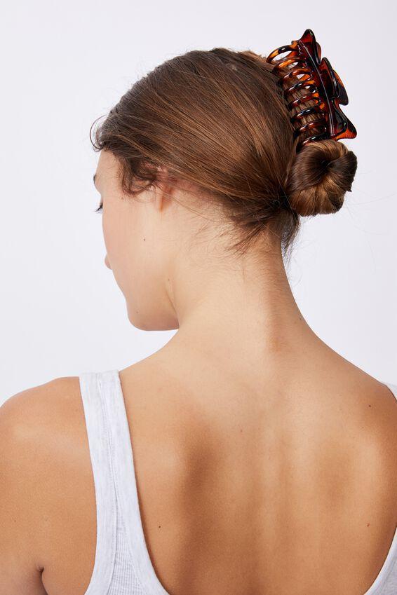 Kiley Hair Claw, AMBER