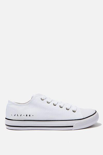Personalised Jodi Low Rise Sneaker 1, BRIGHT WHITE