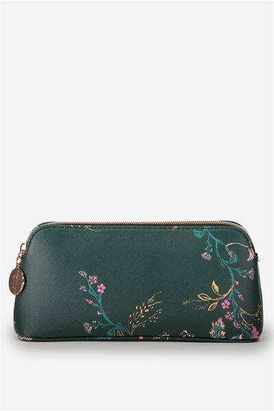 Beauty Tools Cos Case, FLORAL BLOOM JUNE BUG