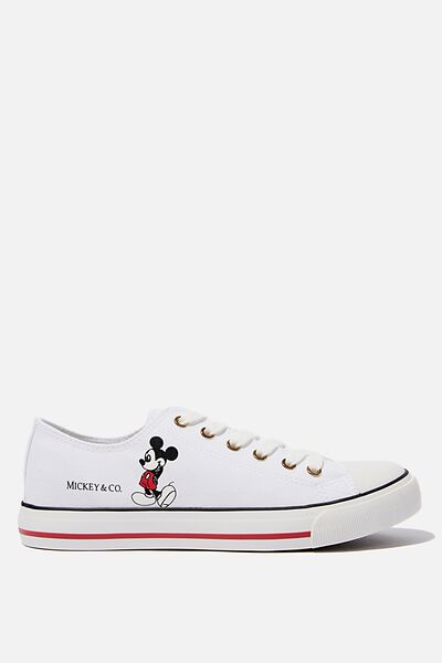 Mickey Jodi Low Rise, LCN DIS WHITE MICKEY