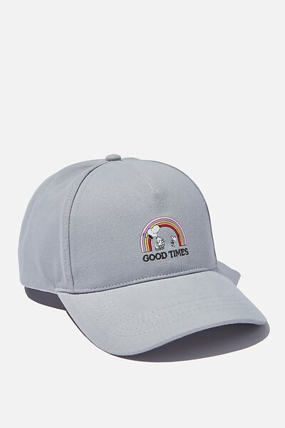 Selina Structured Cap, LCN SKY GREY SNOOPY