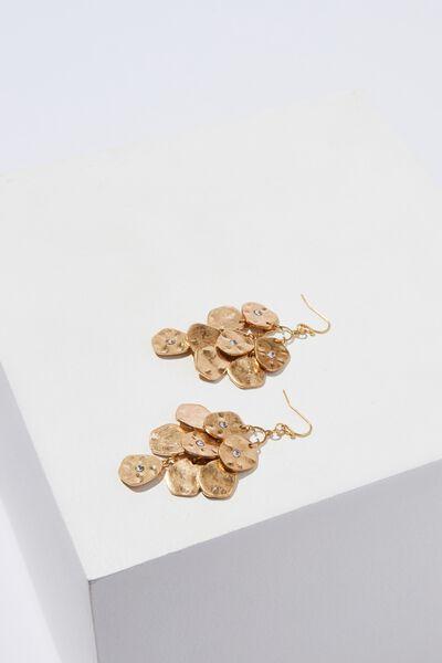 Wren Mystic Earrings, GOLD