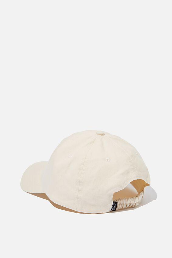 Washed Cap, ECRU