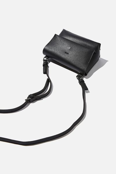 Whit Cross Body Bag, BLACK