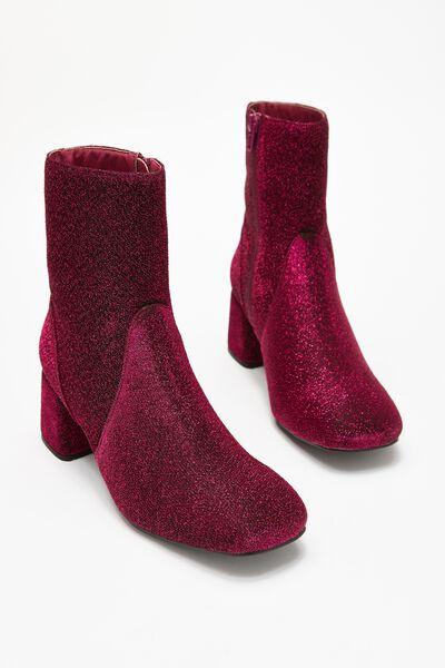 Collins Square Toe Boot, VIVACOUS SPARKLE