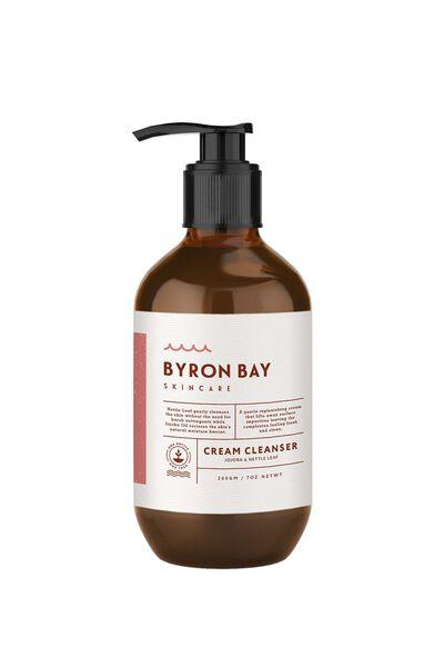 Byron Bay Skincare Cream Cleanser, JOJOBA & MACADAMIA
