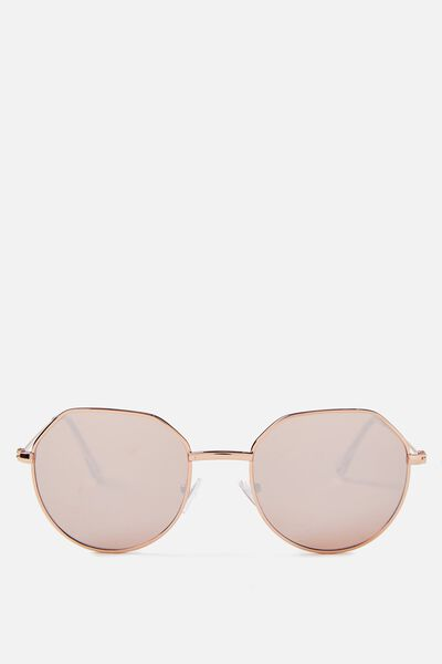 Ailbe Sunglasses, ROSE GOLD/ROSE GOLD