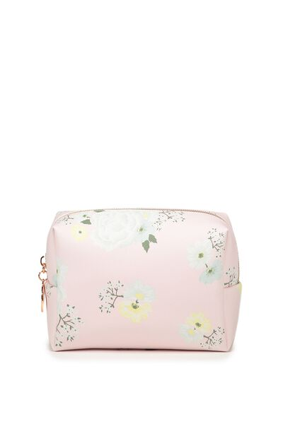 Everyday Cos Case, ROMANTIC FLORAL-PINK ICING