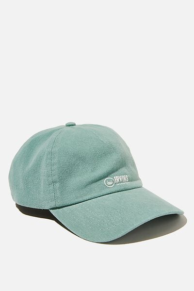 Graphic Dad Cap, LCN IRV IRVINS LOGO/LUSH GREEN