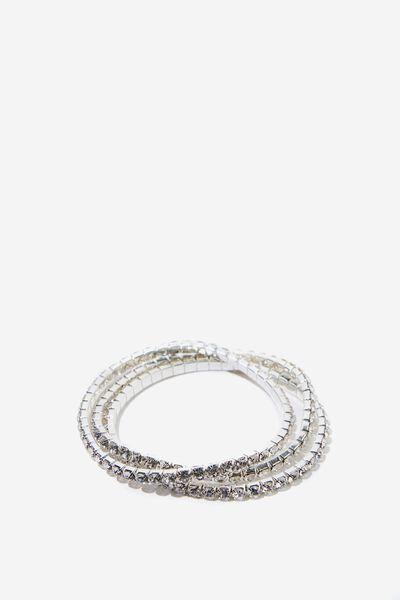 Diamante Bracelet, SILVER