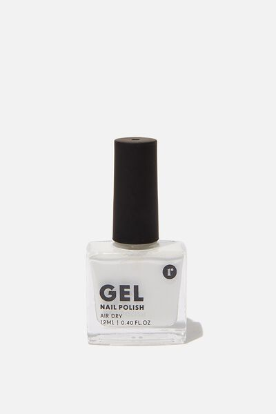 Gel Nail Polish, WHITE