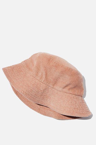 Bianca Bucket Hat, BRUSH CORD