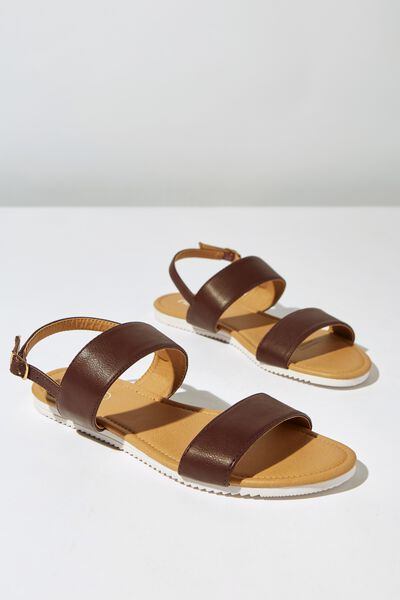 Everyday Marley Sandal, OX BLOOD PU