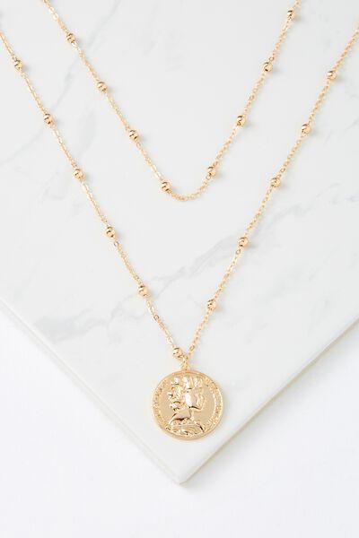 Elwood Necklace, GOLD