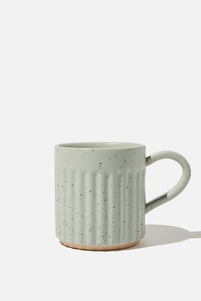 Etched Mug, LUSH GREEN SPECKLE