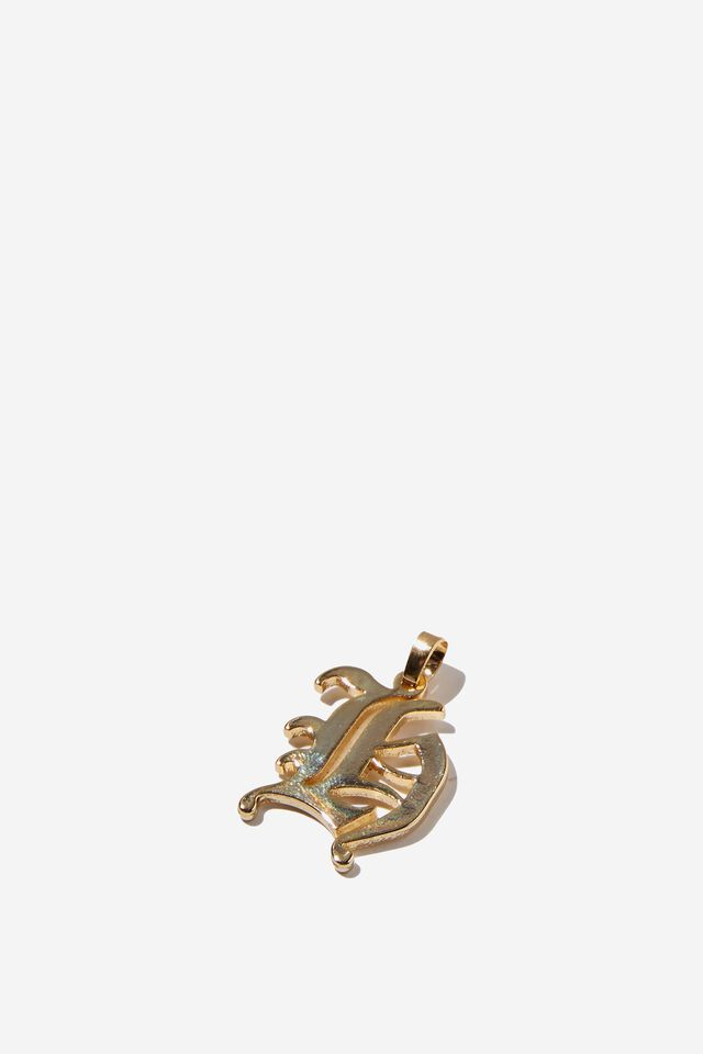 Premium Charm, GOLD PLATED H