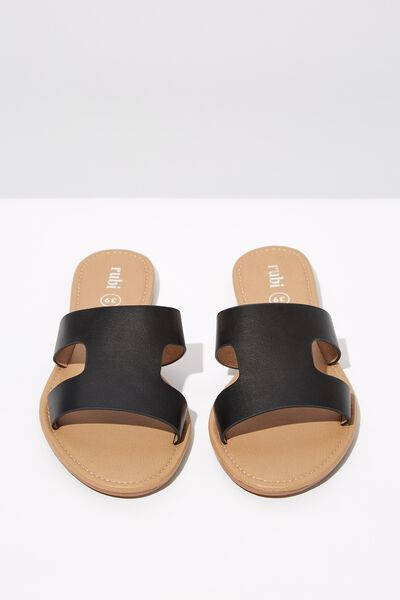 Everyday Cypress Slide, BLACK PU