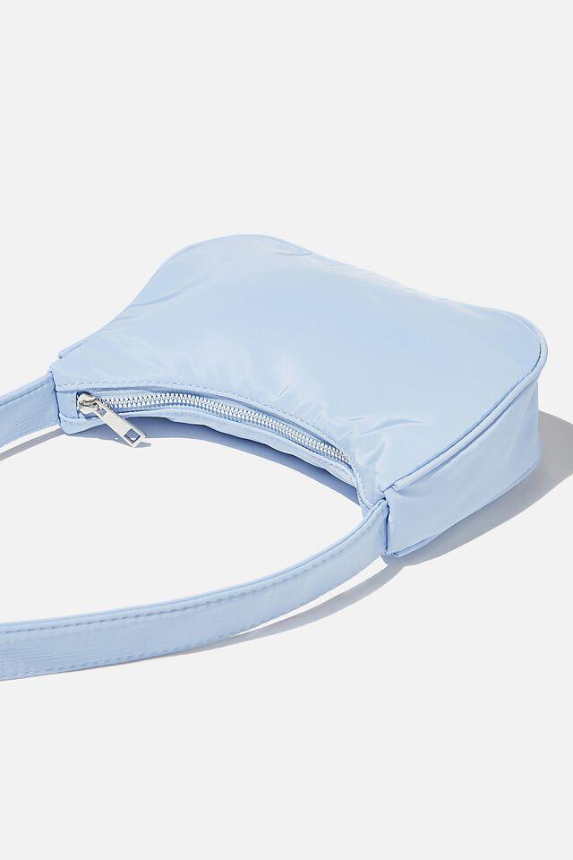 Nadia Underarm Bag, SUN FADED DENIM