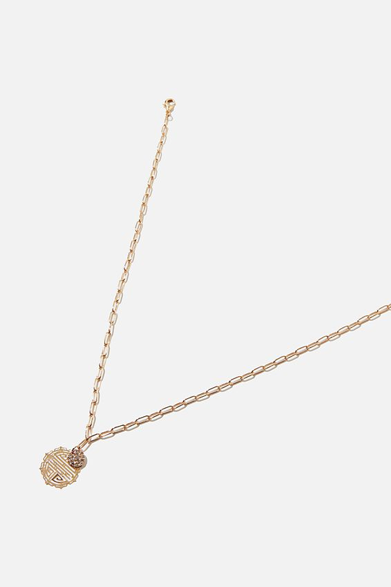 New Luck Necklace, GOLD