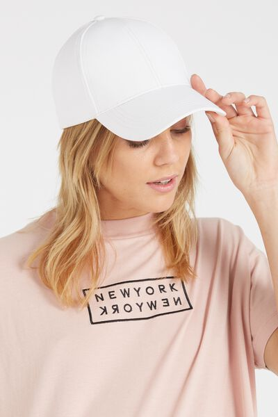 Nancy Cap, WHITE PU