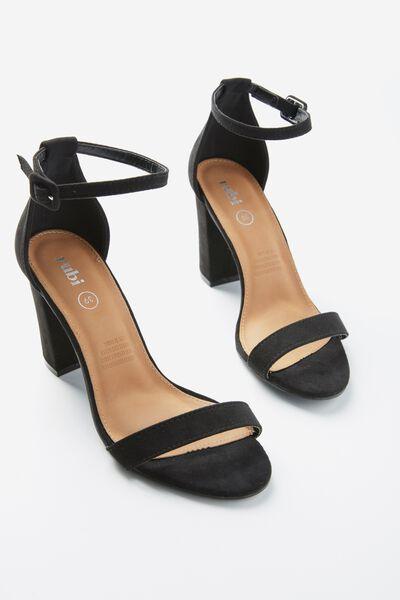 San Luis Heel, BLACK MICRO