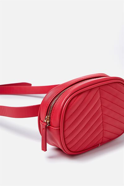 Brodie Belt Bag, RED