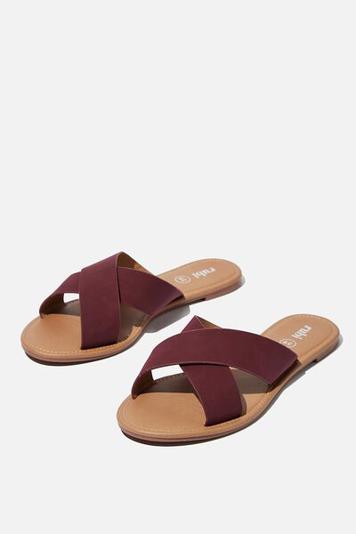Everyday Scarlett Xover Slide, ANDORA PU