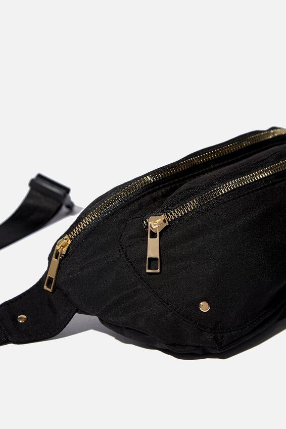 Brazen Belt Bag, BLACK