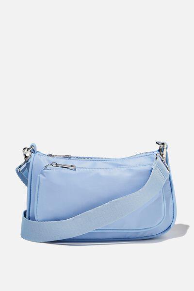 Nadine Cross Body Bag, SUNFADED DENIM