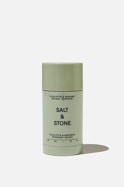 Salt & Stone Deodorant, EUCALPYTUS PINK GRAPEFRUIT BERGAMOT